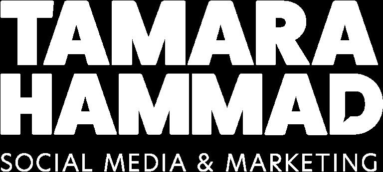 White logo | Tamara Hammad