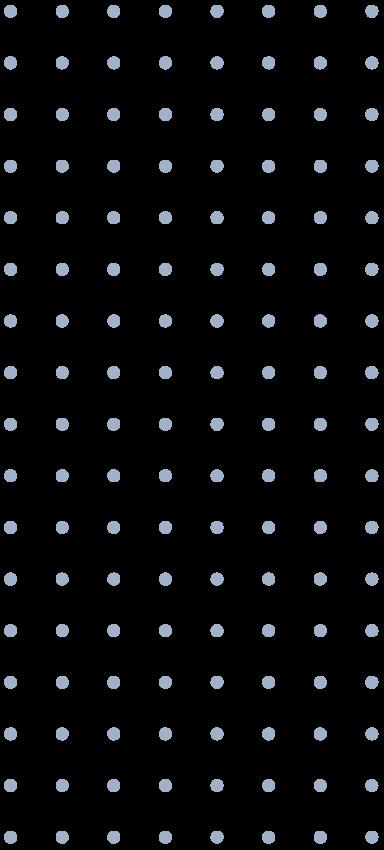Dotty pattern, blue