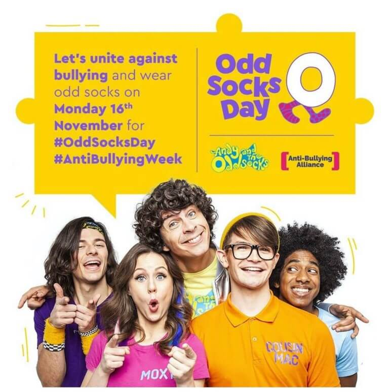 Andy and the Odd Socks promotional Odd Socks Day image